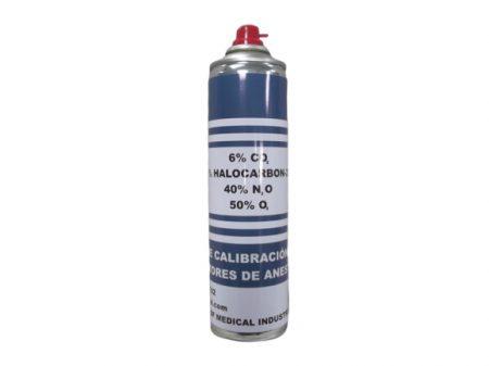 BF1102 – Gas de calibración para Monitores de anestesia  6% CO2 – 4% Halocarbon 22 – 40% N2O – 50% O2. Gases especiales y de calibración