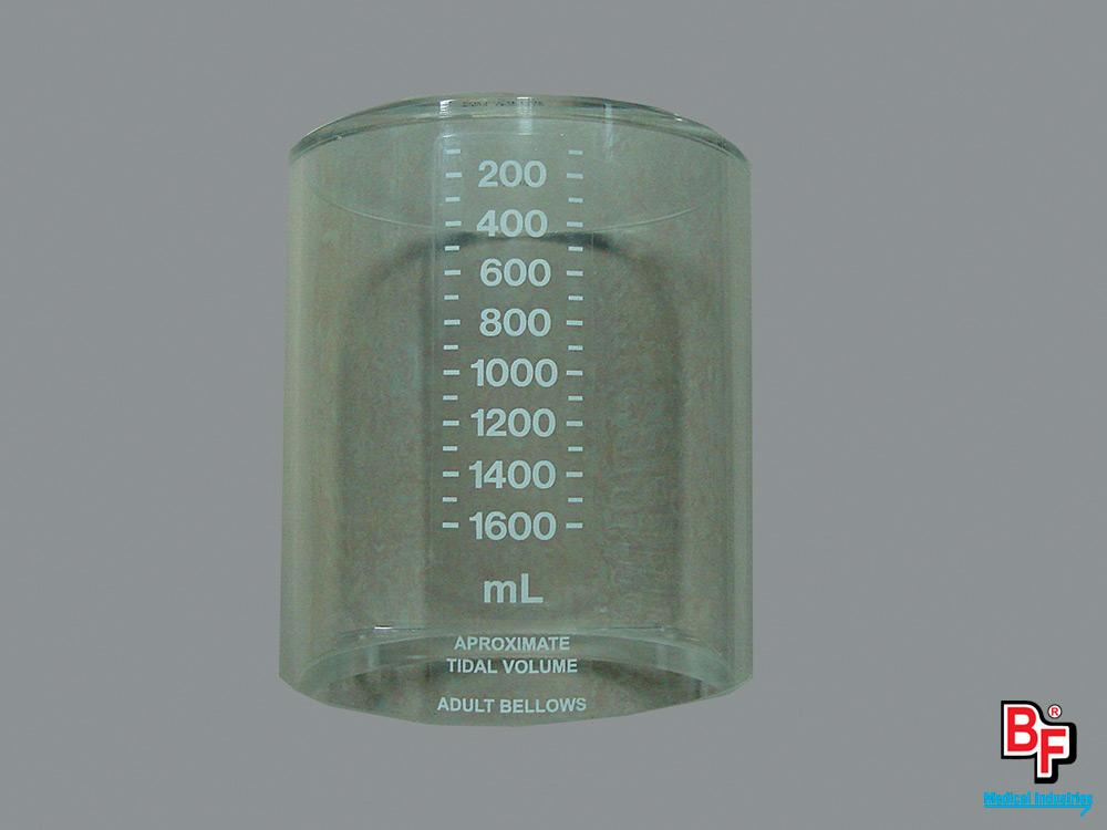 BF170 - Tubo de acrílico para respiro conversor de máquina de anestesia Adox