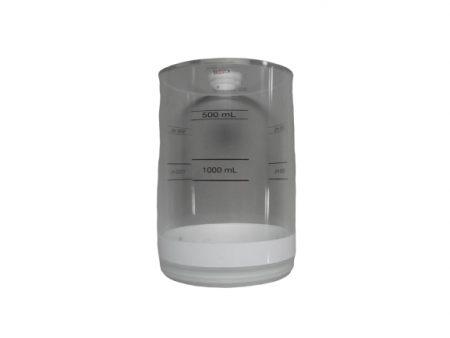 Tubo de acrílico para respiro conversor de máquina de anestesia Takaoka. BF171 Partes para máquinas de anestesia