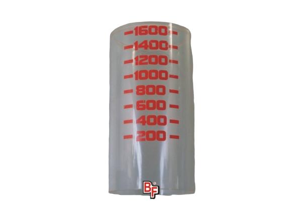 Tubo de acrílico para respirador de máquina de anestesia Narkomed 2A.  BF180L Partes para máquinas de anestesia