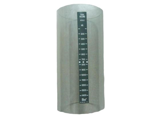 Tubo de acrílico para respirador de anestesia Ohio  V5  BF184 Partes para máquinas de anestesia