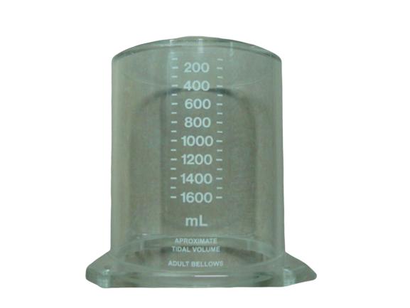 Tubo de acrílico para respirador  Ohmeda 7000, Fraser Harlake, Penlon y Blease  –  BF186 Partes para máquinas de anestesia