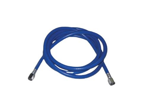 BF202 – Manguera para Oxido Nitroso. Atoxica, sellos mecánicos, color azul, largo 3 mts Partes para máquinas de anestesia