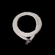 BF203 – Manguera para O2. Atoxica, sellos mecánicos, color blanco, largo 3 mts Partes para máquinas de anestesia