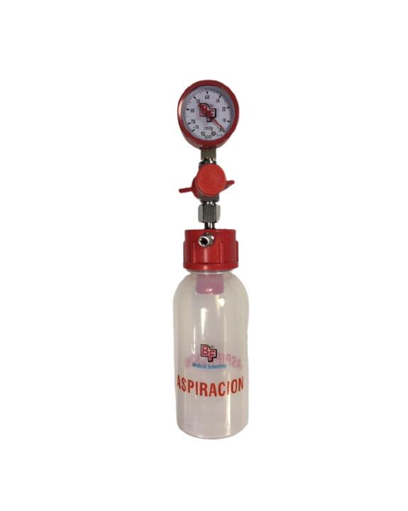 Frasco de aspiración para bomba con frasco receptor. BF2870 Reguladores de presión y accesorios para poliducto