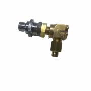 BF2880 – Válvula de bloqueo para oxigeno Reguladores de presión y accesorios para poliducto