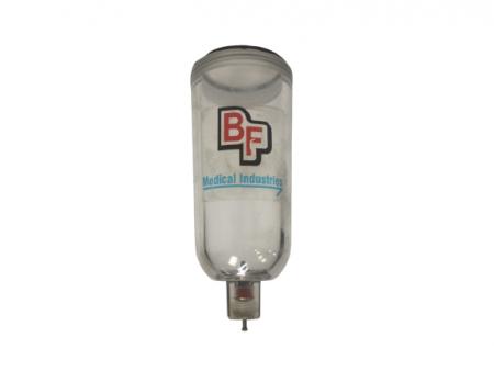 Vaso para filtro de aire de respirador Sechrist IV100B.  BF322V Partes para respiradores