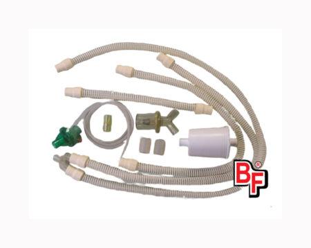 Circuito paciente reusable autoclavable para respirador Hamilton Galileo. BF334 Circuitos Reusables