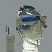 BF346L - Fronto luz. Campo de iluminación variable. Luz fría. Pack de baterías recargables