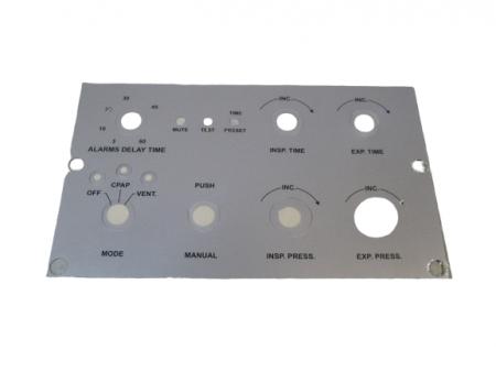 Panel frontal inferior para respirador Sechrist IV 100B.  BF353 Partes para respiradores