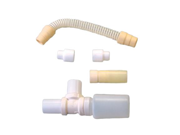 Set de trampa y tubo para respirador Sechrist 2200.  BF362 Partes para respiradores