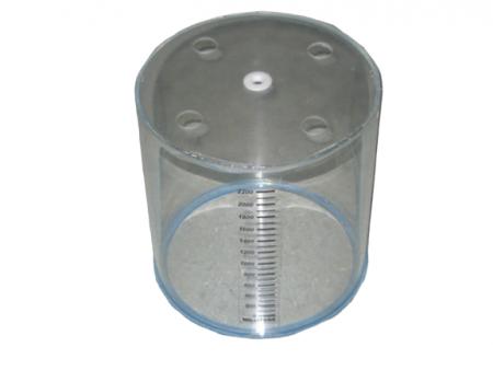 Tubo de acrílico para espirómetro de respirador Puritan Bennett MA1.   BF405 Partes para respiradores