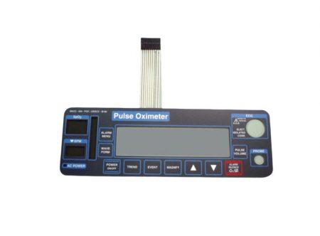 BF662 – Panel frontal para oximetro de pulso  Criticare 504 con ECG Partes para monitores