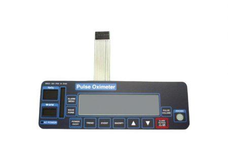 BF663 – Panel frontal para oximetro de pulso Criticare 504 Partes para monitores