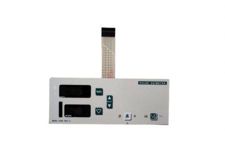BF668 – Panel frontal para oximetro de pulso  Novametrix 515B Partes para monitores