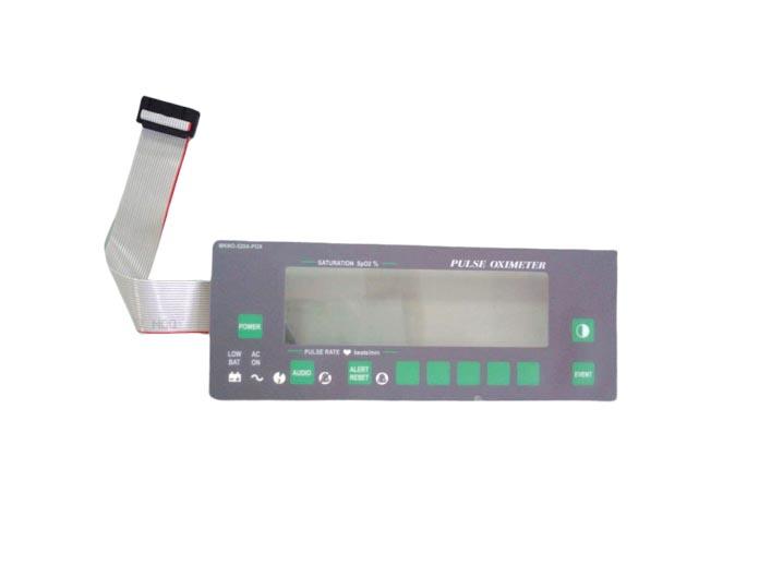 BF669 – Panel frontal para oximetro de pulso Novametrix Oxipleth Partes para monitores