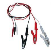 BF708V – Cables (latiguillos) con pinzas cocodrillos. Uso veterinario Cables, sensores, broches, diodos y conectores