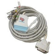 BF715H/BF715B – Cable para electrocardiografos Hewlett Packard Page Writer / Burdik EK10 Cables, sensores, broches, diodos y conectores