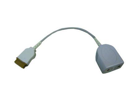 BF725 – Cable intermediario doble de temperatura para monitor  GE Datex Ohmeda – Marquette Cables, sensores, broches, diodos y conectores