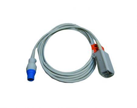 BF731 – Cable intermediario para oximetria  Drager Vista – Siemens 7000 Cables, sensores, broches, diodos y conectores