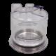 BF327 – Trampa de agua reusable  autoclavable. Circuitos Reusables