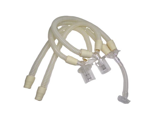 Circuito paciente reusable autoclavable para respirador Bird 6400. BF342 Circuitos Reusables