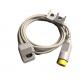 Sensor capnografía para monitor Philips. Cable compatible con Philips Mainstream ETCo2 Sensor M2501A.  BF1060 Cables y accesorios de capnografia