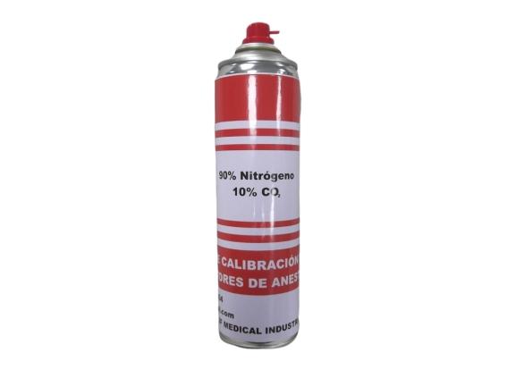 Gas de calibracion para Monitores de Anestesia 90% Nitrogeno 10% CO2 –  BF1104 Gases especiales y de calibración