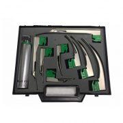 Juego de laringoscopio fibra óptica BF349 Partes para máquinas de anestesia