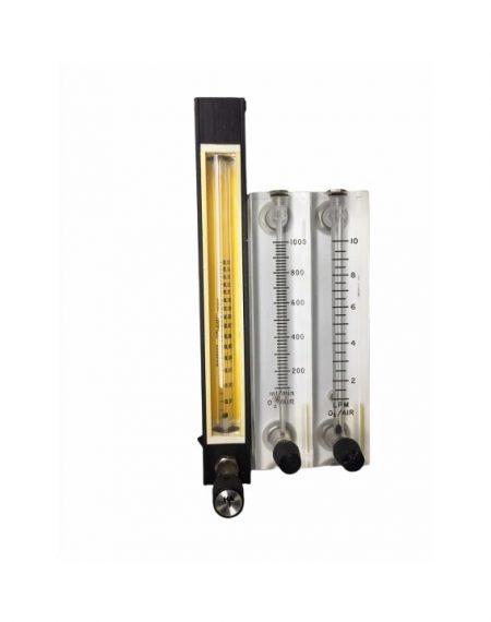 BF2820 Rotámetro de Precisión para Mezclas de gases Partes para máquinas de anestesia