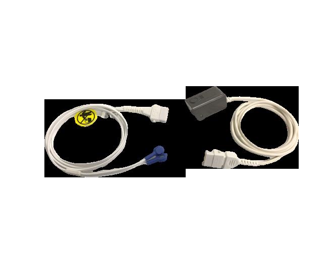 Sensor oximetria BCI. BF757 – BF758 Cables, sensores, broches, diodos y conectores