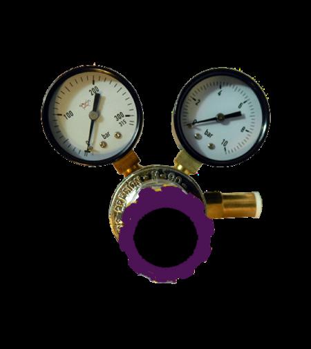 Regulador de presión para tubo de CO2. BF988 Conexiones y mangueras para insufladores de CO2 para laparoscopia
