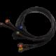 BF718 – Juego de cables snaps para electrocardiografo Philips modelo TRIM Cables, sensores, broches, diodos y conectores