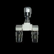 Llave de dos vías para aire comprimido BF2810 Reguladores de presión y accesorios para poliducto