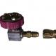 BF980 – Conector adaptador macho – hembra para CO2. Conexiones y mangueras para insufladores de CO2 para laparoscopia